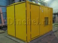 Желтый контейнер ДГУ