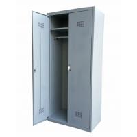 Шкаф металлический для хранения одежды двухстворчатый