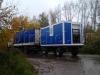 Транспортирование блок-контейнера на шасси