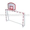 Ворота минифутбольные с баскетбольным щитом
