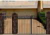 Ворота металлические кованые ВМ-1