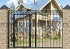 Ворота металлические кованые ВМ-8