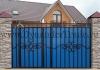 Ворота металлические кованые ВМ-9