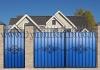 Ворота металлические кованые ВМ-11
