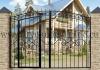 Ворота металлические кованые ВМ-12