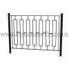 Забор металлический ЗМ-9
