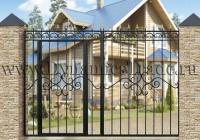 Ворота металлические ВМ-8