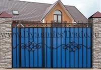 Ворота металлические ВМ-9