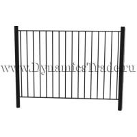 Забор металлический ЗМ-5