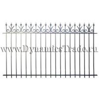Забор металлический ЗМ-35
